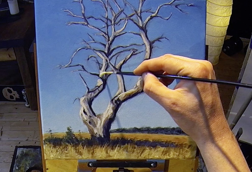 Acrylic Painting Lesson