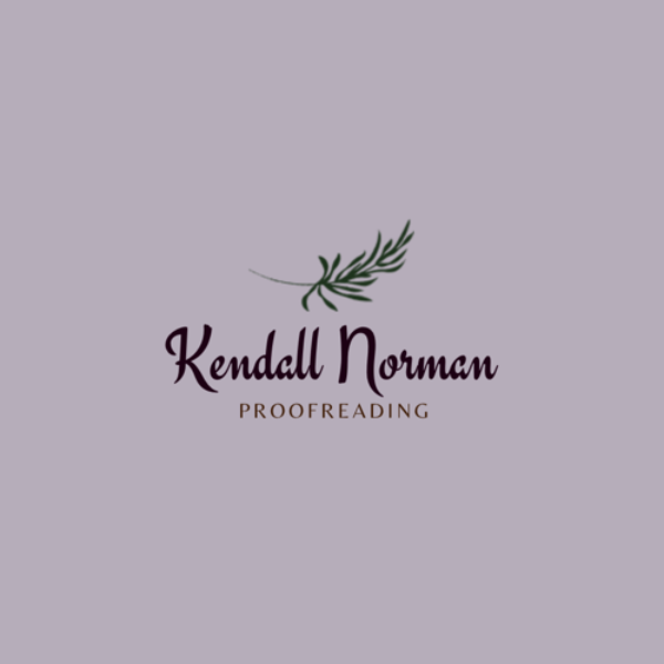 Kendall Norman Proofreading
